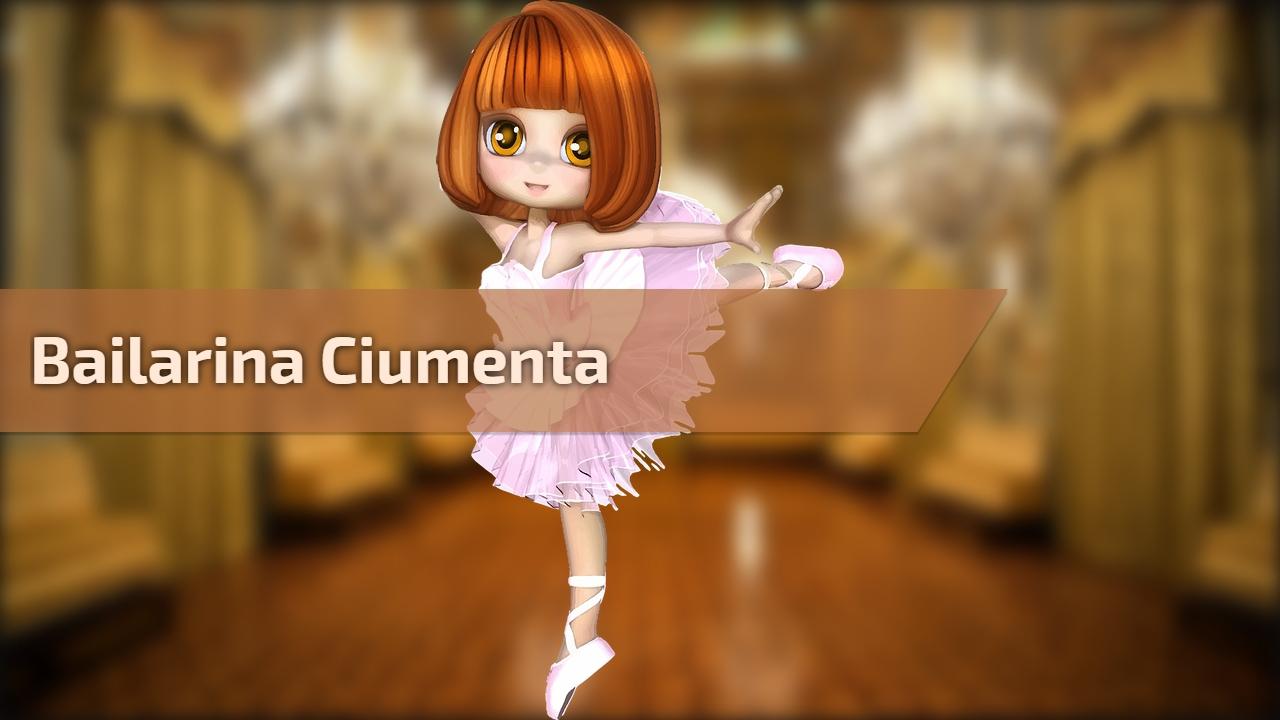 Bailarina ciumenta