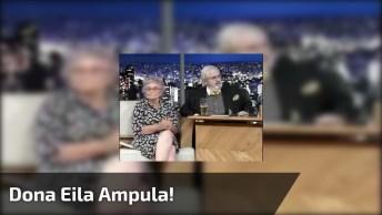 Dona Eila Ampula, A Idosa Sincera Que Deixou O Jô Soares Sem Ação!
