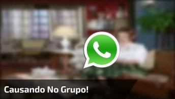 Dona Hermínia Causando No Grupo Do Whatsapp, Veja O Que Ela Aprontou!