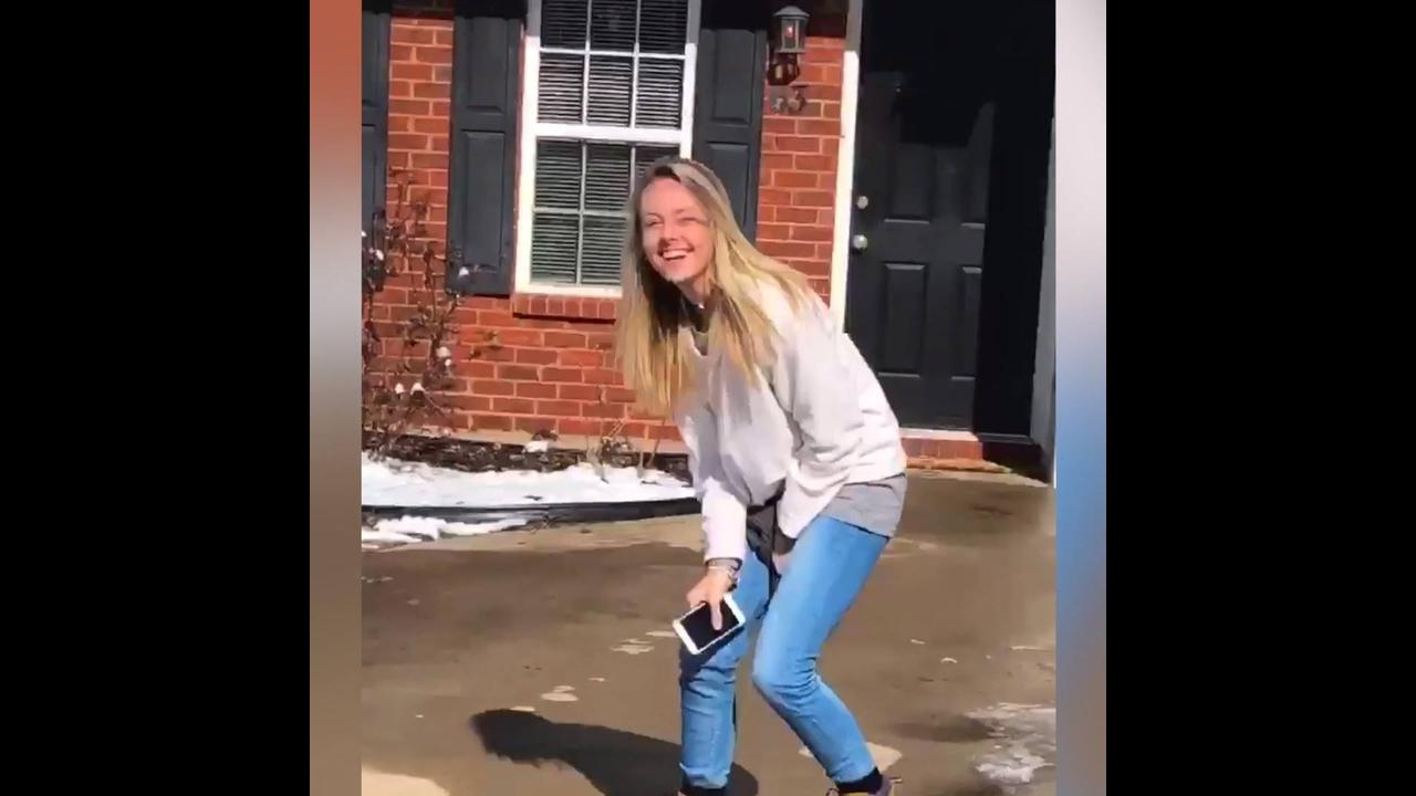 Escorregões na neve, para rir muito e compartilhar no Facebook