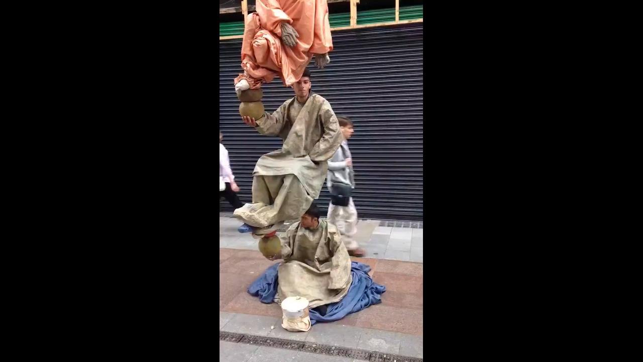Estátuas Humanas de Rua