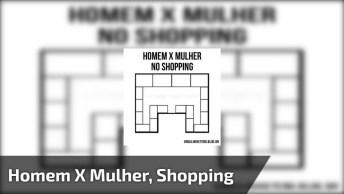 Homem Versus Mulher No Shopping! Nem Precisa De Legenda, Precisa?