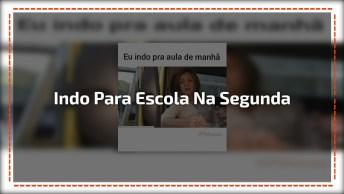 Indo Para Escola Na Segunda-Feira, Marque As Amigas Do Facebook!