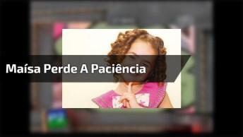 Maísa Perde A Paciência Com Garoto Em Programa De Tv, Confira!