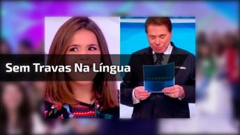 Maísa Silva Não Tem Travas Na Língua, Veja O Que Ela Falou Para Silvio Santos!