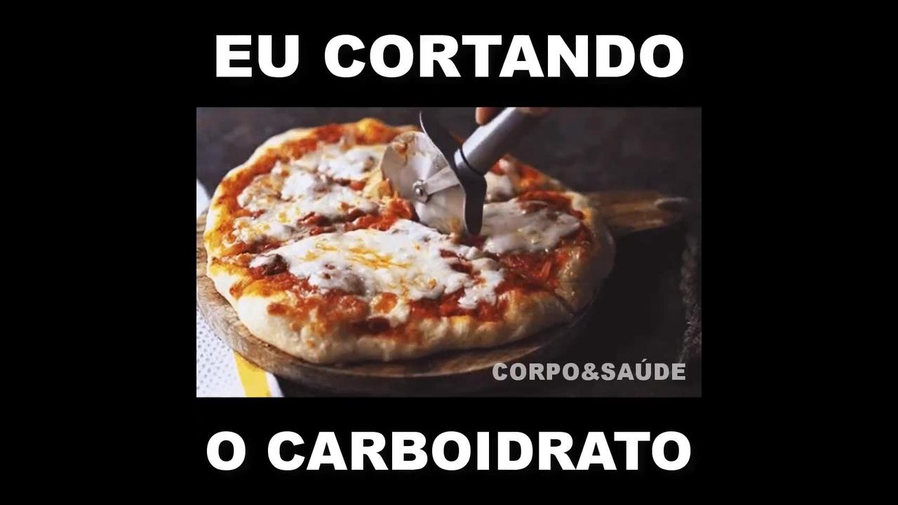 Marque sua amiga para ver você cortando o carboidrato, hahaha!
