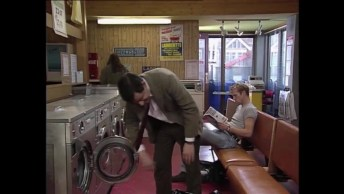 Mr Bean Na Lavanderia, Um Humor Inigualável E Sensacional!