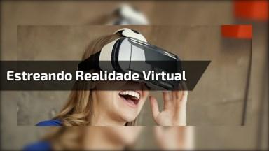 Mulher Em Jogo De Realidade Virtual, Ela Quase Estragou Tudo Hahaha!