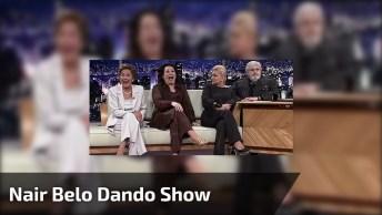 Nair Belo Dando Show De Humor, Veja A Resposta Que Ela Deu Para Jô Soares Kkk!