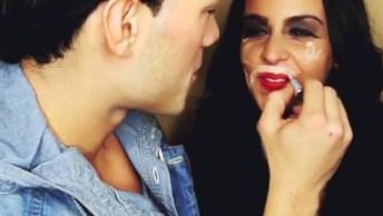 Namorados Tentando Fazer Maquiagem Em Suas Namoradas, Sera Que Eles Sabem?