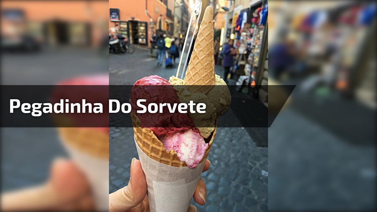 Pegadinha do sorvete
