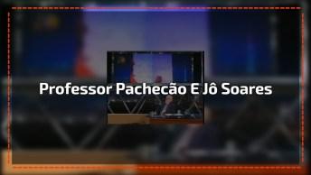 Professor Pachecão No Programa Do Jô Soares, Inteligente E Engraçado!