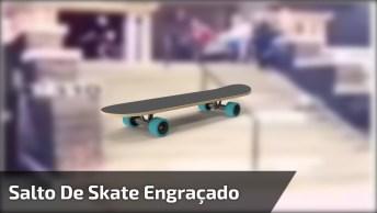 Rapaz Faz O Pulo Do Michael Jackson Ao Cair Do Skate, Confira!