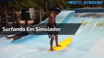 Rapaz Quebra Pescoço Ao Tentar Surfar Em Simulador, Confira!