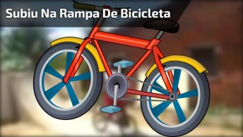 Se For Subir Na Rampa De Bicicleta, Analise Antes A Sua Manobra Hahaha!