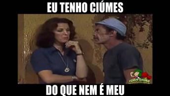 Seu Madruga Com Crise De Ciúmes, Compartilhe Esse Vídeo De Humor No Facebook!