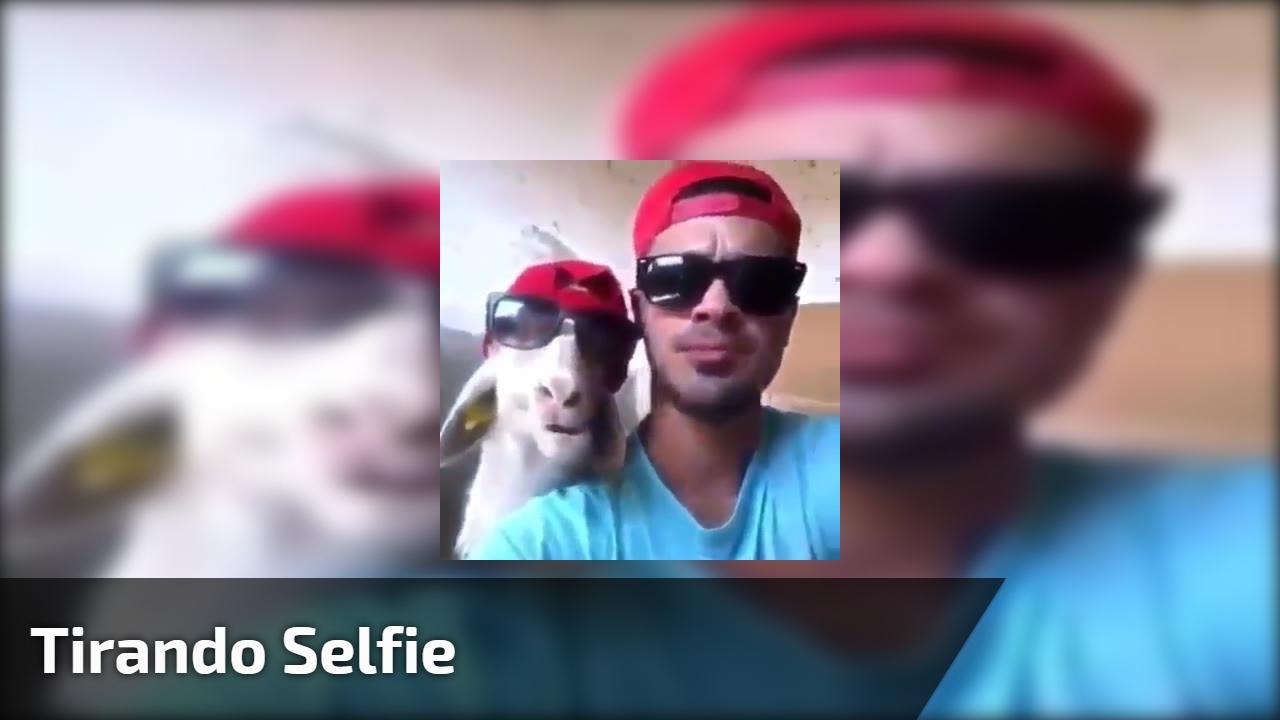 Tirando selfie
