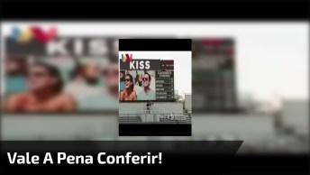 Veja O Que Acontece Quando A Câmera Do Beijo Da Errado, Kkk!