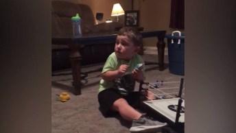 Video Engraçado De Crianças Levando Sustos, Você Vai Rir Demais!