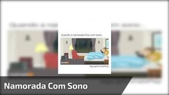 Video Engraçado De Namorada Com Sono, Compartilhe No Facebook!