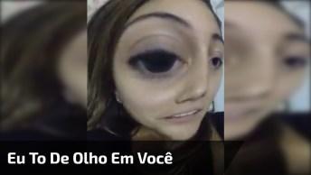 Video Eu To De Olho Para Enviar No Whatsapp, Já Manda Logo O Aviso Hahaha!