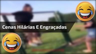Videos Com Cenas Engraçadas Para Compartilhar, São Cenas Hilárias Hahaha!