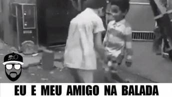 Você E Seu Amigo Na Balada, Marque O Dançarino Do Facebook!