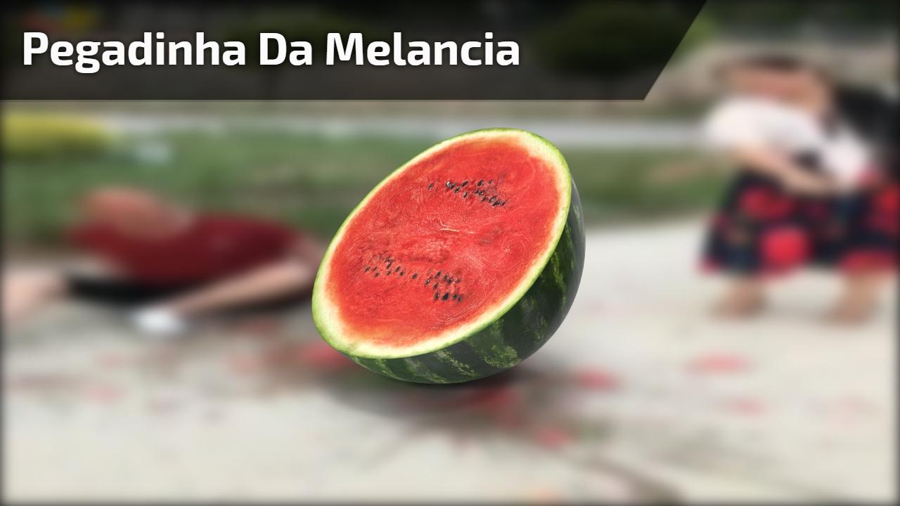 Pegadinha da melancia