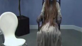 Pegadinha De Câmera Escondida Da Cadeira Balançando, Confira!