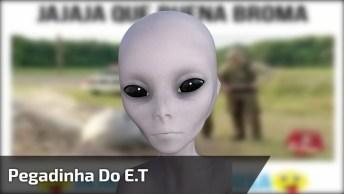 Pegadinha Do E. T, Você Levaria Ele Com Você? Para Rir Muito Kkk!