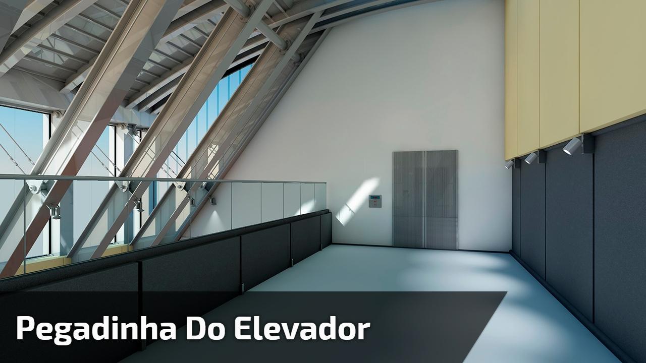 Pegadinha do elevador