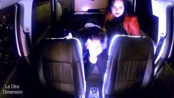 Pegadinha Do Extraterrestre - Muito Medo E Susto Dentro De Um Táxi!