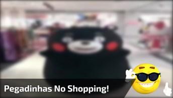 Pegadinhas No Shopping, Para Rir Muito E Compartilhar No Facebook!