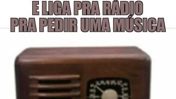 Como Pedir Uma Música No Rádio Sem Saber Falar Inglês, Muito Bom Hahaha!