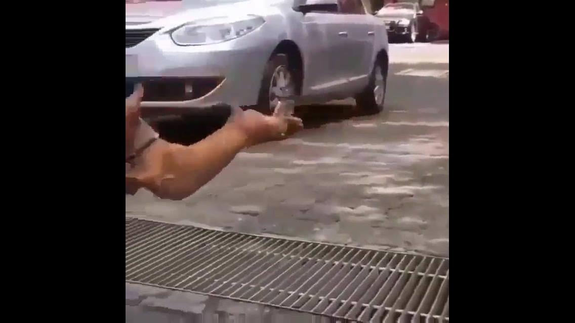 Cachorrinho voador, esse ai quer chegar logo hahaha