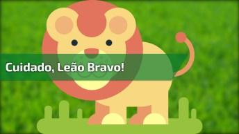 Cachorro Mais Bravo Que Vai Ver No Dia, Ele Parece Um Leão, Confira!