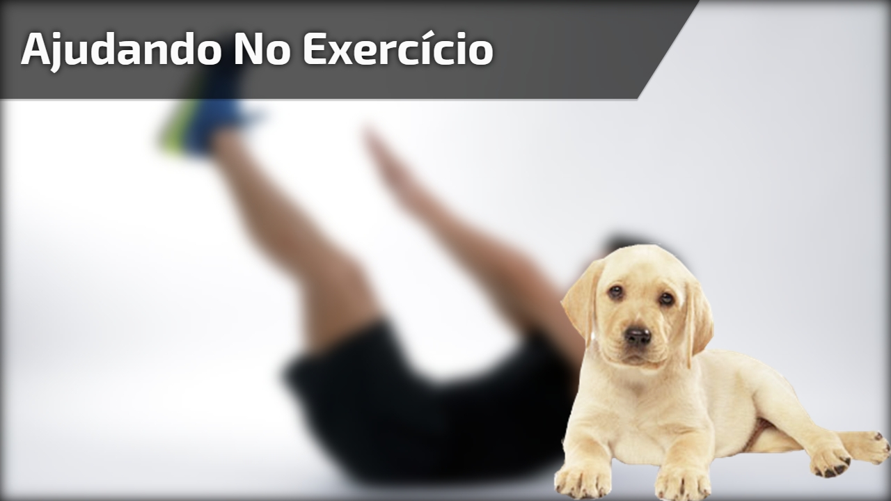 Ajudando no exercício