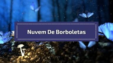 Nuvem De Borboletas, A Natureza É Maravilhosa, Confira E Compartilhe!