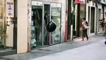 Pug Brincando Com Balão, Olha Só A Alegria Deste Amiguinho!