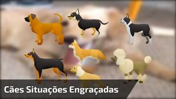 Vídeo Recheado De Situações Engraçadas Com Cachorros, Olha Só Que Fofos!