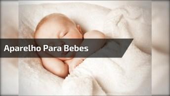 Aparelho Que Ajuda A Mamãe Na Hora Que O Bebê Esta Chorando Querendo Colo!