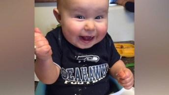 As Reações Mais Fofas De Bebês Na Hora De Se Alimentar!