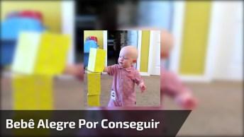 Bebê Com Felicidade Contagiante, Você Vai Amar Essa Fofura!