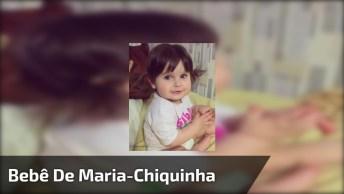 Bebê Com Maria-Chiquinha E Música Indiana, Que Criança Linda!