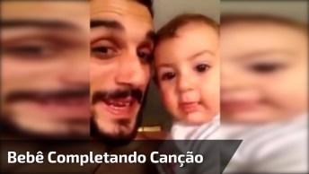 Bebê Completando Canção 'Happy Birthday' - Muita Fofura, Confira!