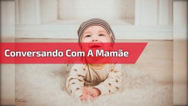 Bebê Conversando Com A Mamãe, Que Coisa Mais Linda De Vídeo Gente!