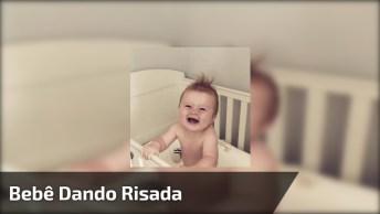 Bebê Dando Risada Divertida - Veja Como É Engraçado E Fofo!