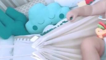 Bebê Descansando Na Rede, Que Berço Mais Lindo, Confira!