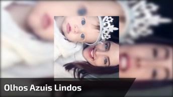 Bebê E Mamãe Com Olhos Lindos, Duas Princesas, Confira!