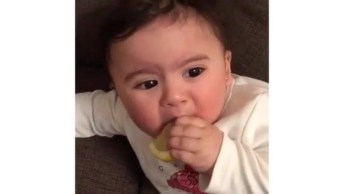 Bebê Experimentando Limão, A Carinha É Muito Fofinha, Confira!